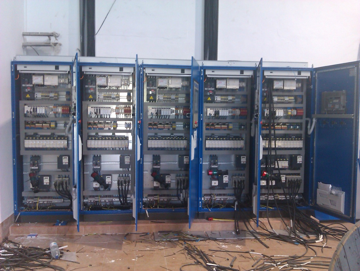 Cuadros elécticos para automatización ITEC