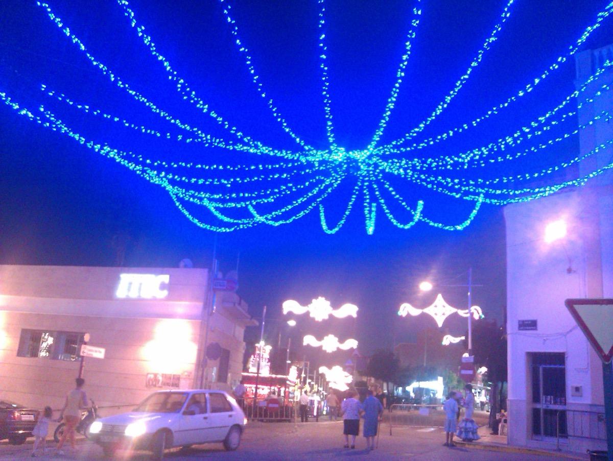 Iluminación de ferias22 ITEC