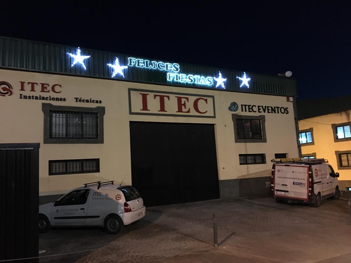Iluminación de instalaciones ITEC